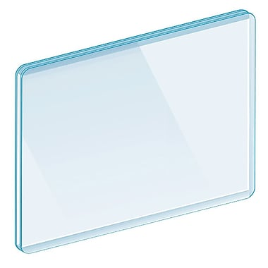 Kostklip® Three Side Sealed Sign Protectors, Clear, 25/Pack