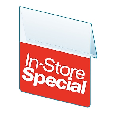 KostklipMD – Pancarte « In-Store Special » ShelfTalkerMC, collection Signature, 1,25 x 2,5 po, paquet de 100 (SSGG-103829)