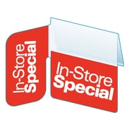"Kostklip® Signature Series ""In-Store Special"" Right Angle ShelfTalker™, 1.25"" x 2.5"", 100/Pack (SSGH-103837)"
