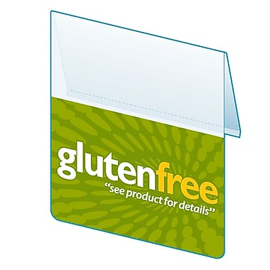 KostklipMD – Bavette « Gluten Free » ShelfTalker™ collection Signature, 1,25 po x 2,5 po (SSHA-105216)