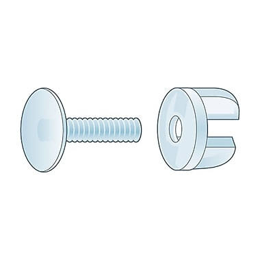 KostklipMD – Pince Viking, 0,875 po, transparent, 100/paquet (VCF0-100136)