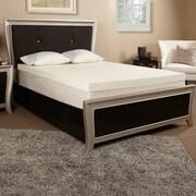Luxury Solutions 3'' Memory Foam Mattress Topper; Twin