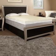 Luxury Solutions 2'' Memory Foam Mattress Topper; Twin
