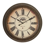 Woodland Imports Oversized 23'' Metal Wall Clock
