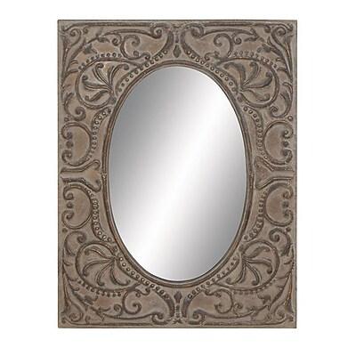 Woodland Imports Flawless Metal Wall Mirror