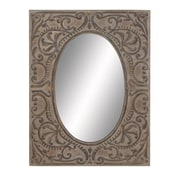 Woodland Imports Flawless Metal Wall Mirror