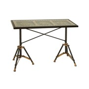 Woodland Imports Movie Reel Console Table