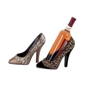 Woodland Imports 1 Bottle Tabletop Wine Holder (Set of 2)