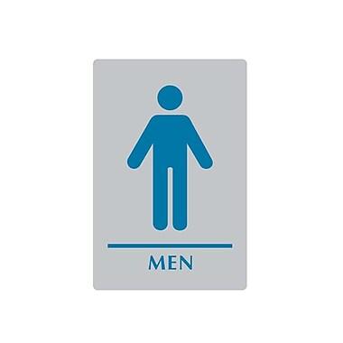 Sintra – Affiche toilettes hommes, 6 x 9 po