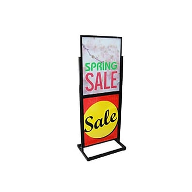 Top and Bottom Floor Sign Holder, 22-1/4