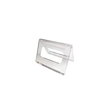 Acrylic Tent Countertop Sign Holders,12/Pack