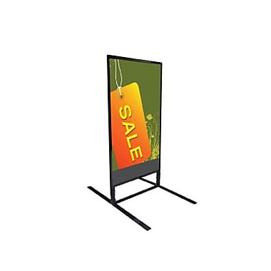 Wind Resistant Sign Holder, 28