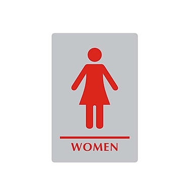 Sintra Women Washroom Sign, 6
