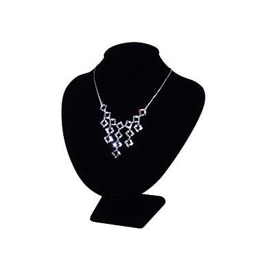 Necklace Bust Display, Black