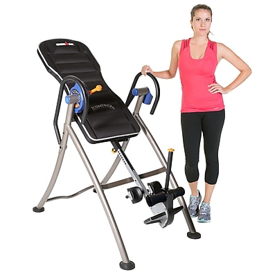 "Ironman ""I-Control"" 600 Disk Brake Heavy Duty Inversion Table with Air Tech Backrest"