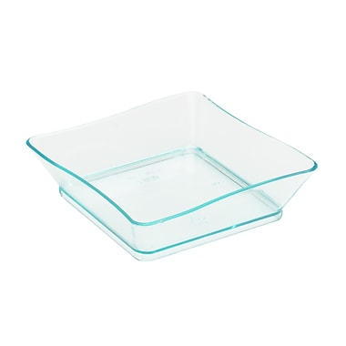 Tiny Temptations Plastic Green Tiny Trays 2.25
