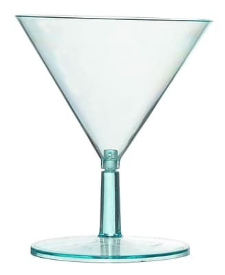 Tiny Temptations Plastic 2-Piece Tiny Tini Glass