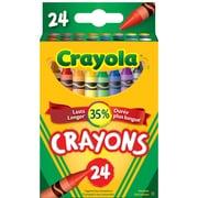 Crayola® 24-Piece Regular Crayons in Tuck Box, 12/Pack