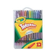 Crayola® Twistables crayons, Assorted Colours, 12/Pack