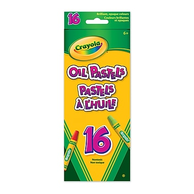 Crayola® 16-Piece Oil Pastels, 12/Pack