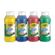 Crayola® - Peinture lavable, 4 par paquet, paq./4