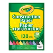 Crayola Construction Paper Pad, 120 count Pads, 12/Pack