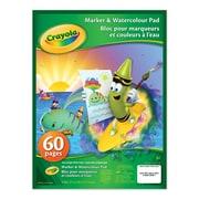 Crayola® - Bloc pour marqueurs et couleurs à l'eau, paq./12