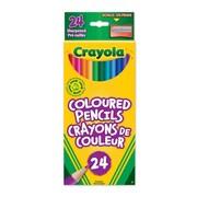 Crayola® Coloured Pencils, 24 per Box, 12/Pack