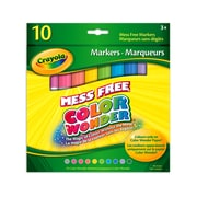 Crayola® Color Wonder Markers, Classic Colours, 10 per Box, 12/Pack