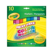 Crayola® Color Wonder Markers, Tropical Colours, 10 per Box, 12/Pack
