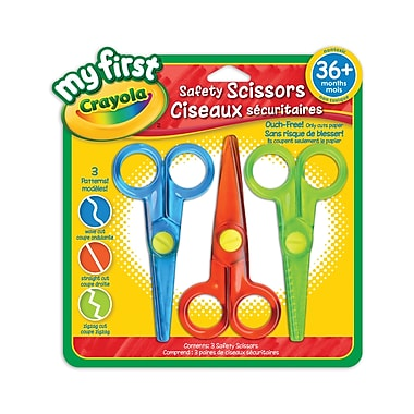 Crayola® My First Safety Scissors, 16/Pack