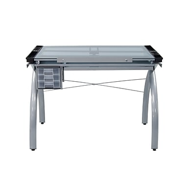 Studio Designs 43.25''Lx24''D Rectangular Drafting Table, Metal