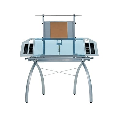 Studio Designs Futura 50''Lx22''D Specialty Drafting Table, Blue