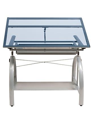 Studio Designs Avanta 42''Lx24''D Rectangular Drafting Table, Steel