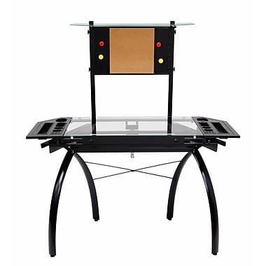 Studio Designs Futura 50''Lx22''D Specialty Drafting Table, Black
