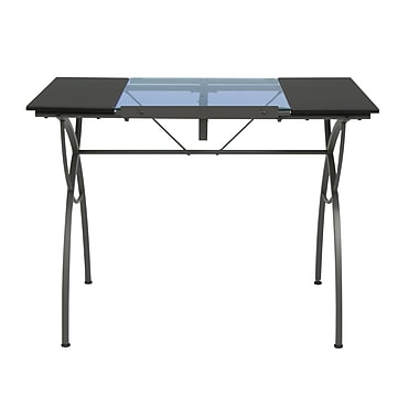 Studio Designs Catalina 40''Lx23.75''D Rectangular Art/Planning Table, Metal