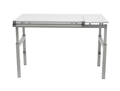 Studio Designs 53.75''Lx31.25''D Rectangular Workstation Table, Steel