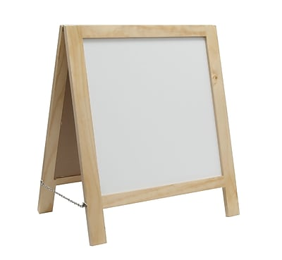 Studio Designs Hardwood Kid's Fold A Way Easel Natural 1.2' x 1.2'