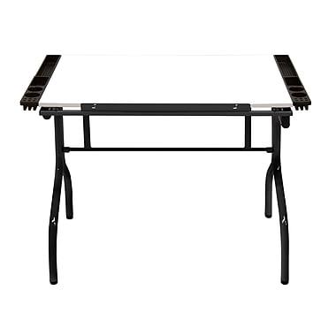 Studio Designs 41''Lx25''D Rectangular Art/Planning Table, Blue