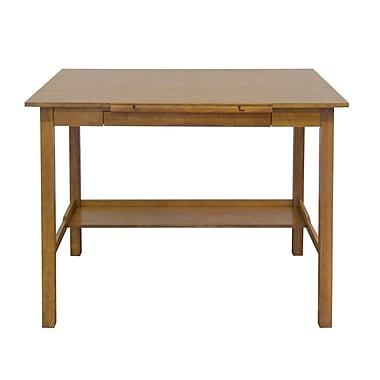 Studio Designs Americana II 48''Lx36''D Rectangular Drafting Table, Wood/Veneer