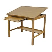 "Studio Designs 48""W x 36""D Hardwood, Veneered wood Americana II Drafting Table"