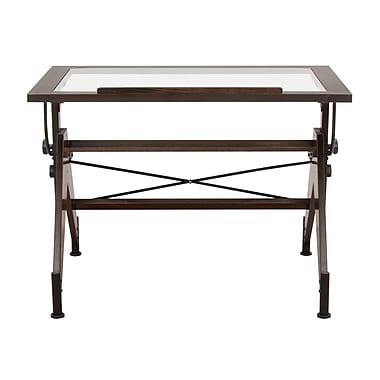 studio designs aries rectangular drafting table - Drafting Tables