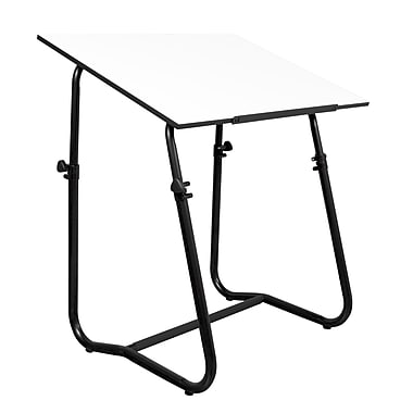 Studio Designs 42''Lx30''D Square Drafting Table, Metal