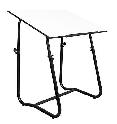 Studio Designs 42''Lx30''D Square Drafting Table, Metal