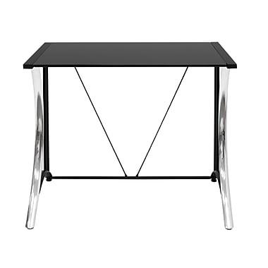 Calico Designs Monterey 35''Lx20''D Rectangular Workstation Table, Steel (50401)
