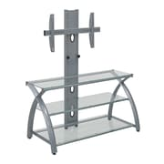Calico Designs Heavy Gage Steel TV Stand Silver