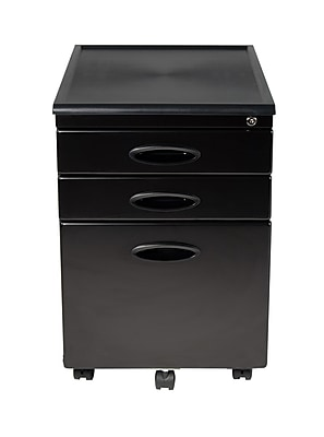 Calico Designs 3-Drawer Metal File Cabinets