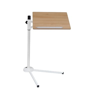 Calico Designs Plastic Calico Tech Laptop Stand, White/Maple