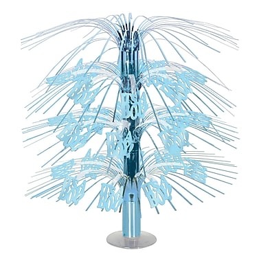 Light Blue It's A Boy! Cascade Centerpiece, 18