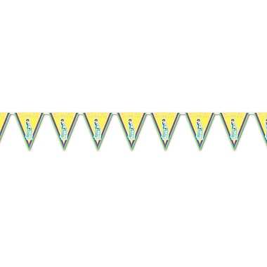 Yellow Showers Of Joy Pennant Banner, 10